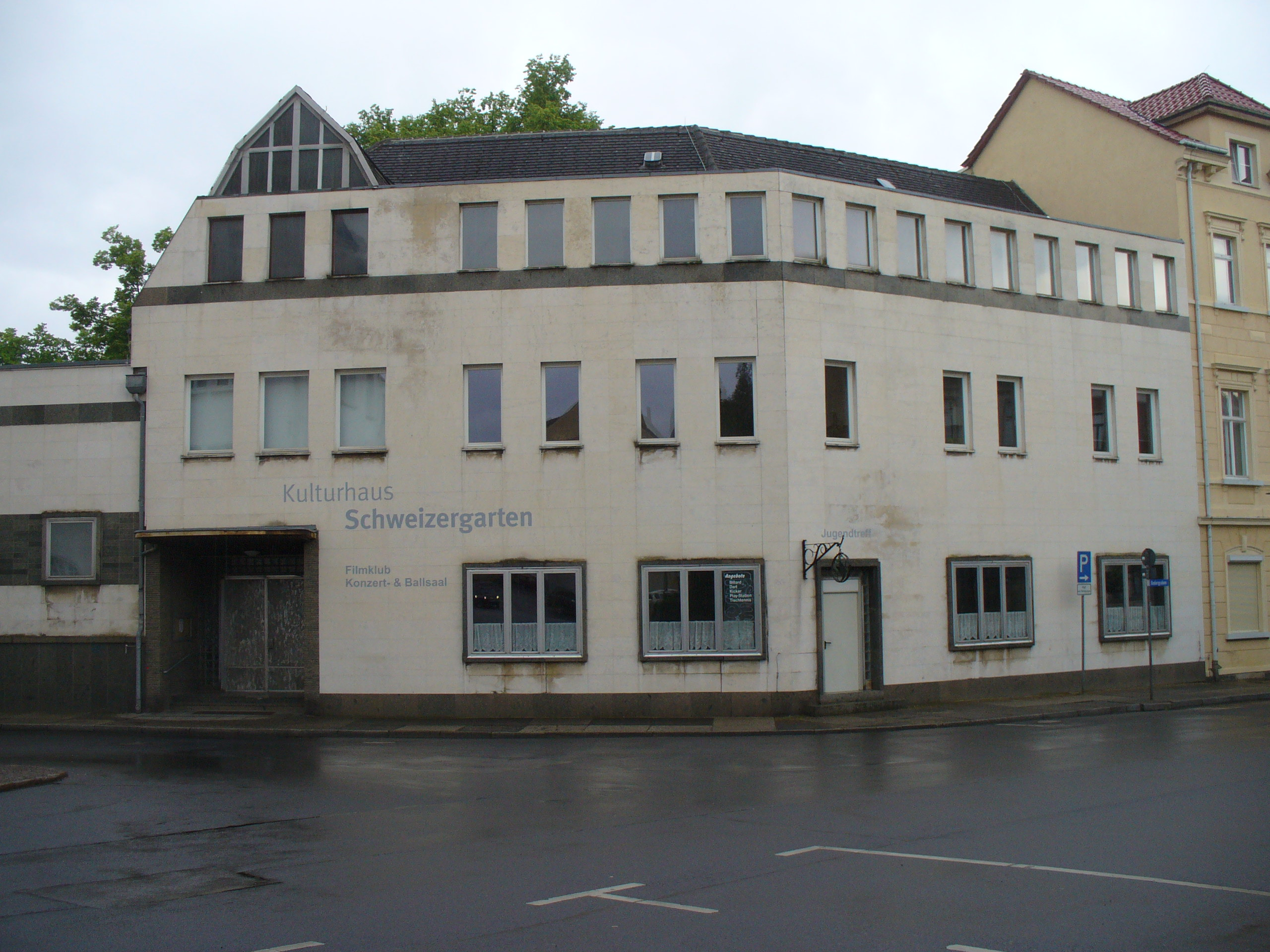 Bürgergespräch im Schweizergarten