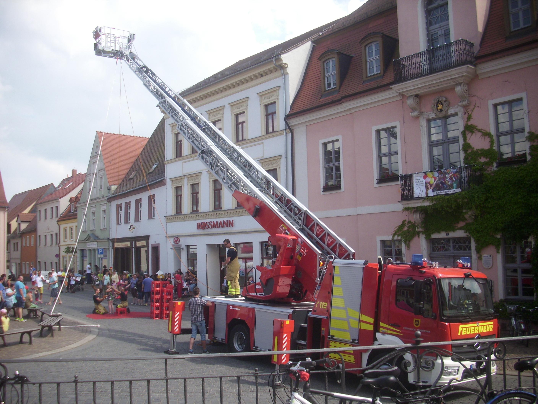 Kinderfest in Wurzen- großer Erfolg trotz Hitzeschlacht!