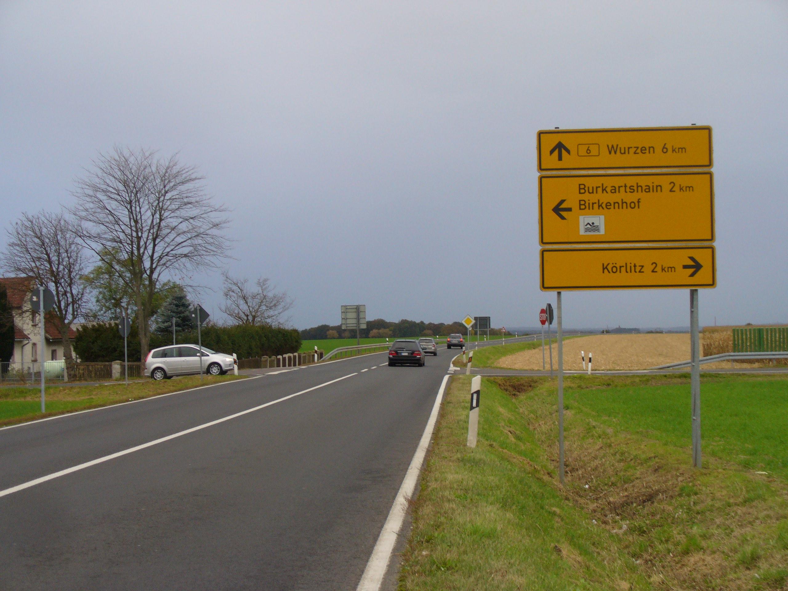 Birkenhof – Ausbau zum Kreisverkehr startet