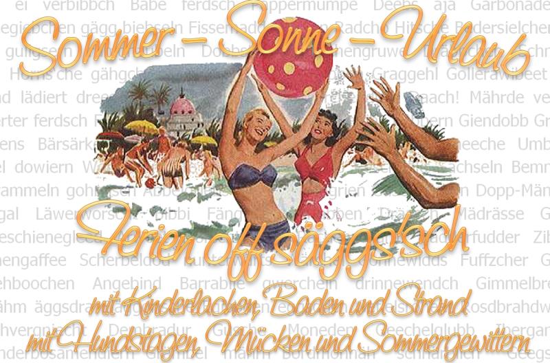 Sächsischer Sommer im Ringelnatzhaus