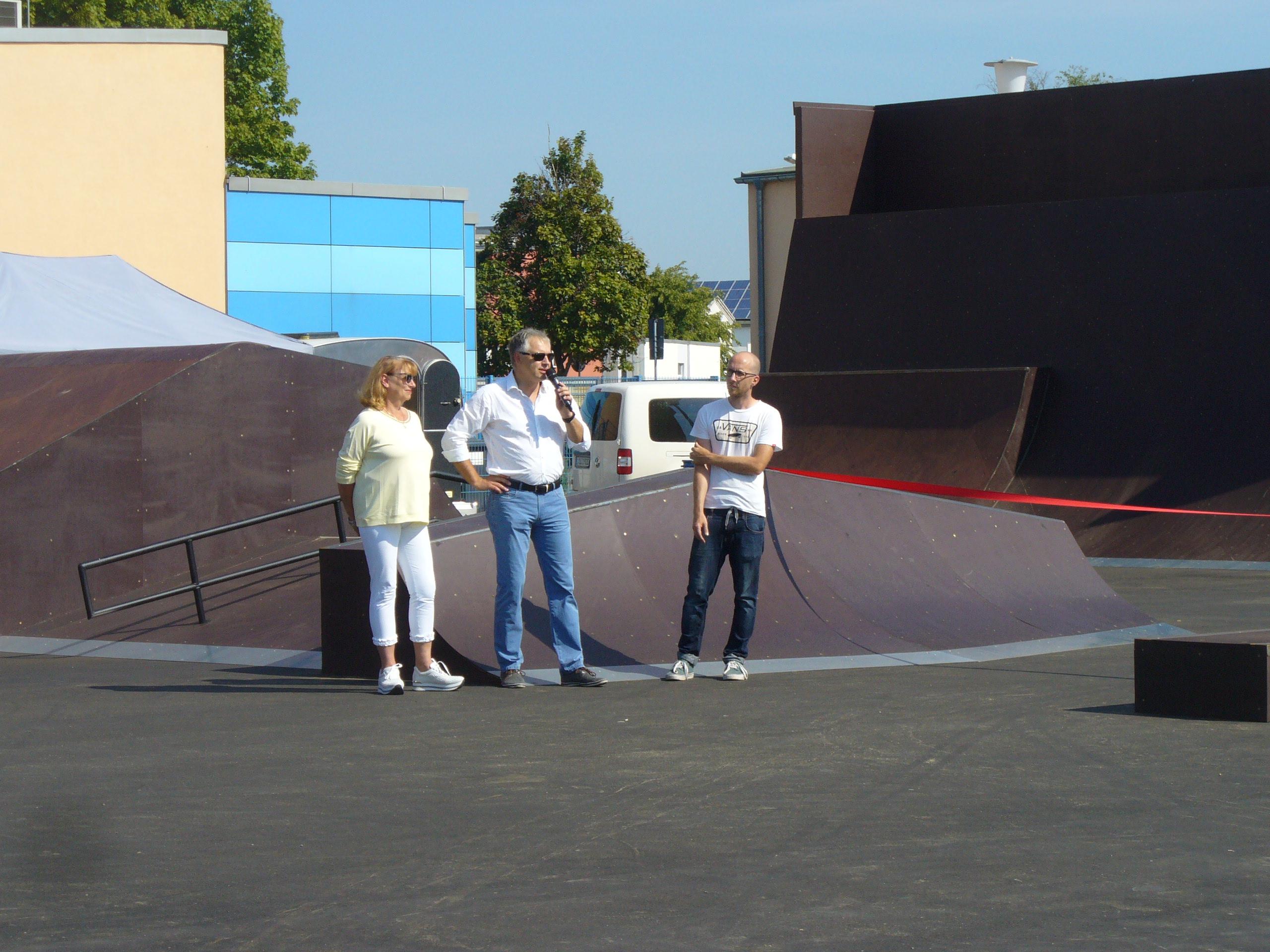 Skatepark Wooden Corner ist eröffnet