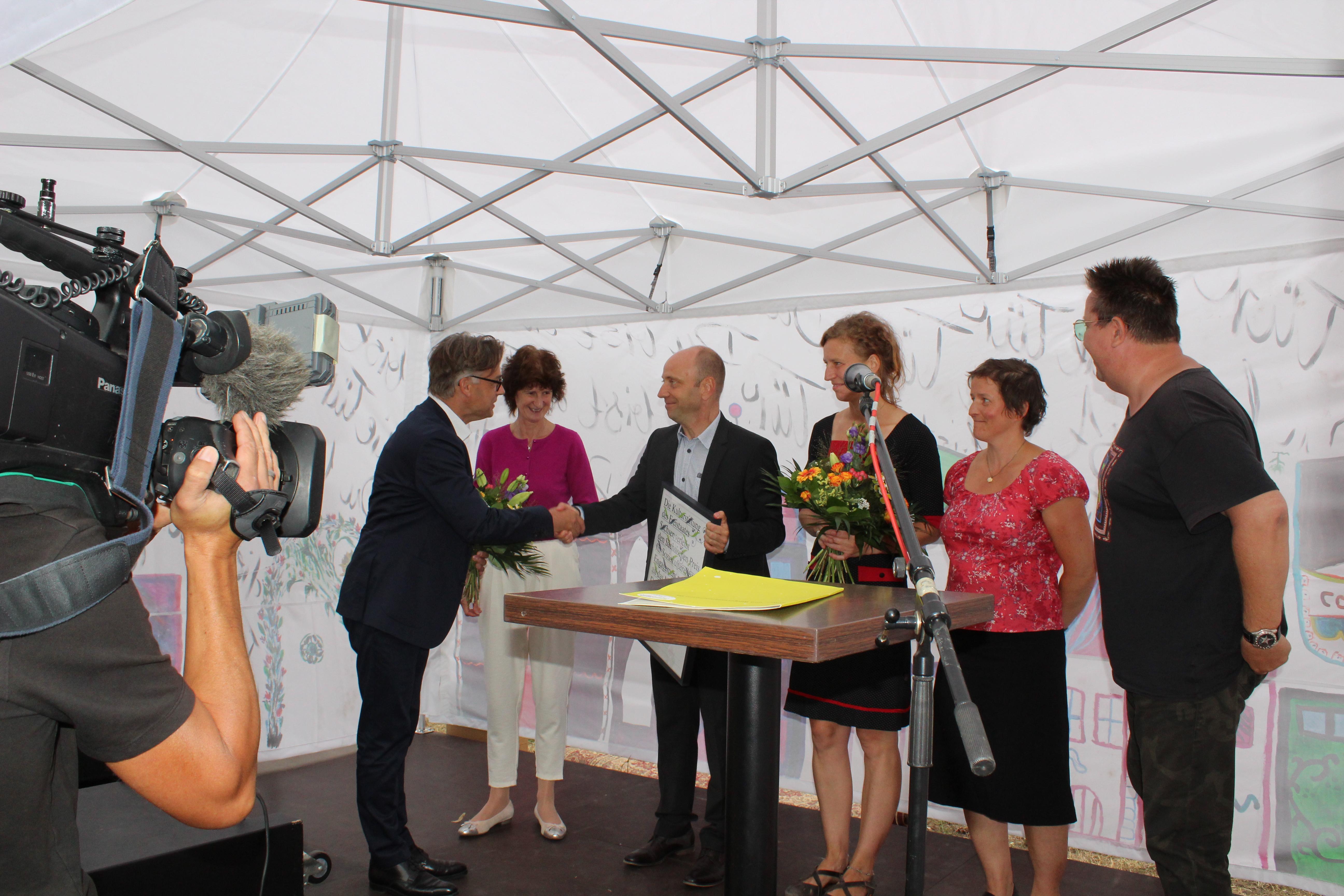 NDK erhält Preis für soziokulturelles Engagement