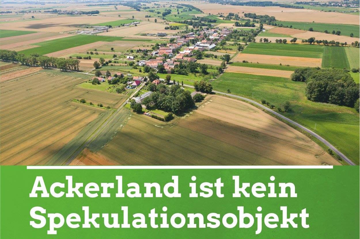 Grüne diskutieren über Landgrabbing im Osten