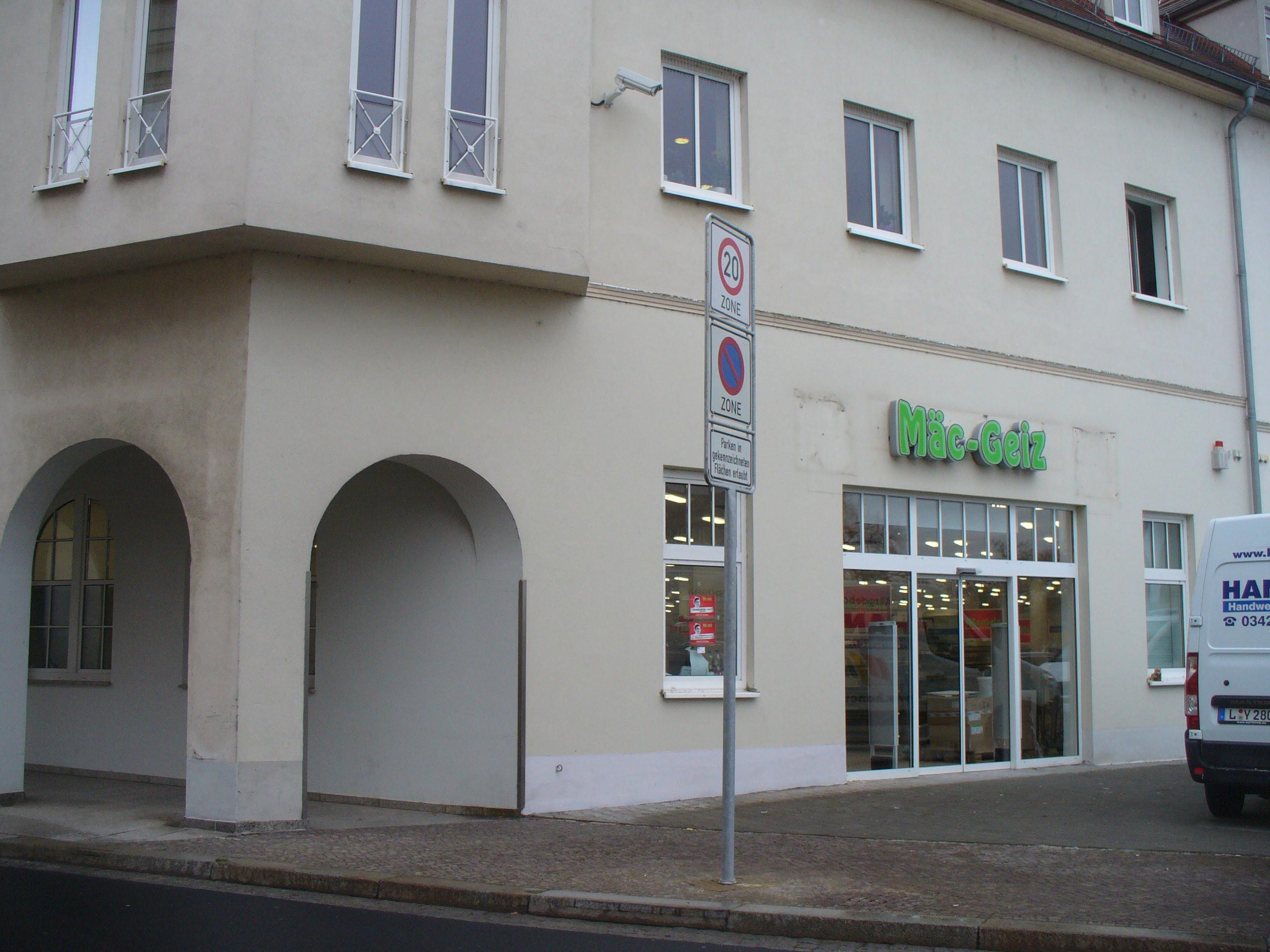 Haushalts-Discounter Mäc-Geiz eröffnet in Wurzen