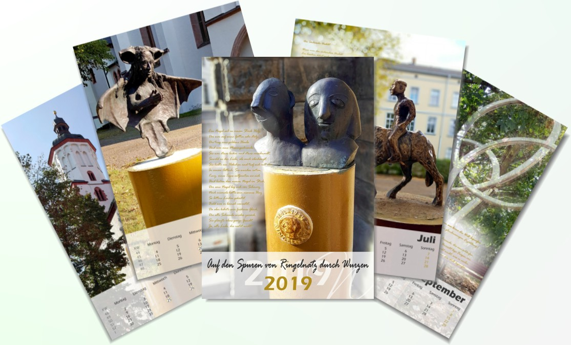 Mit Ringelnatz-Gedichten durch´s Jahr 2019