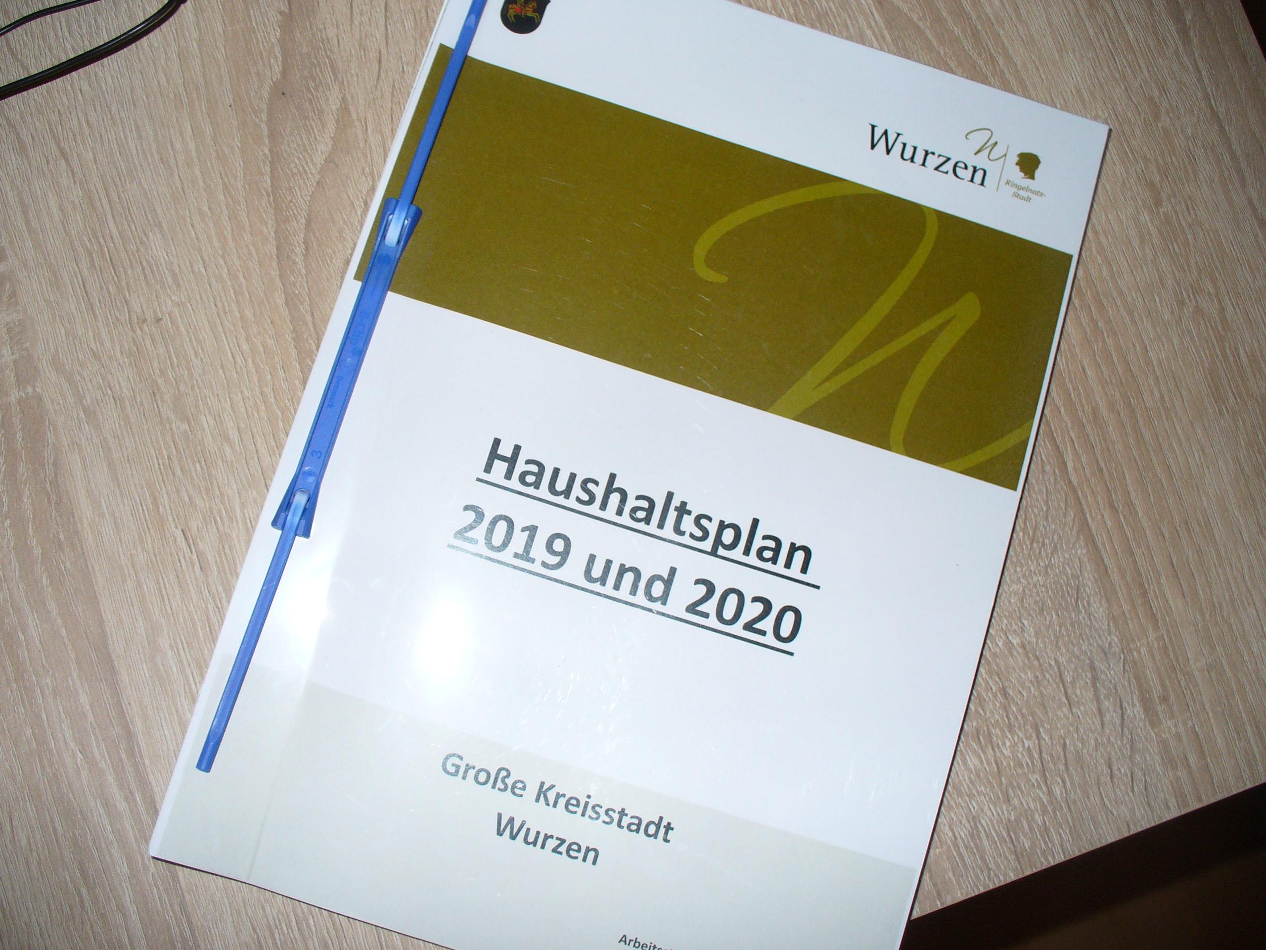 Wurzener Stadtrat beschließt Doppelhaushalt 2019/20