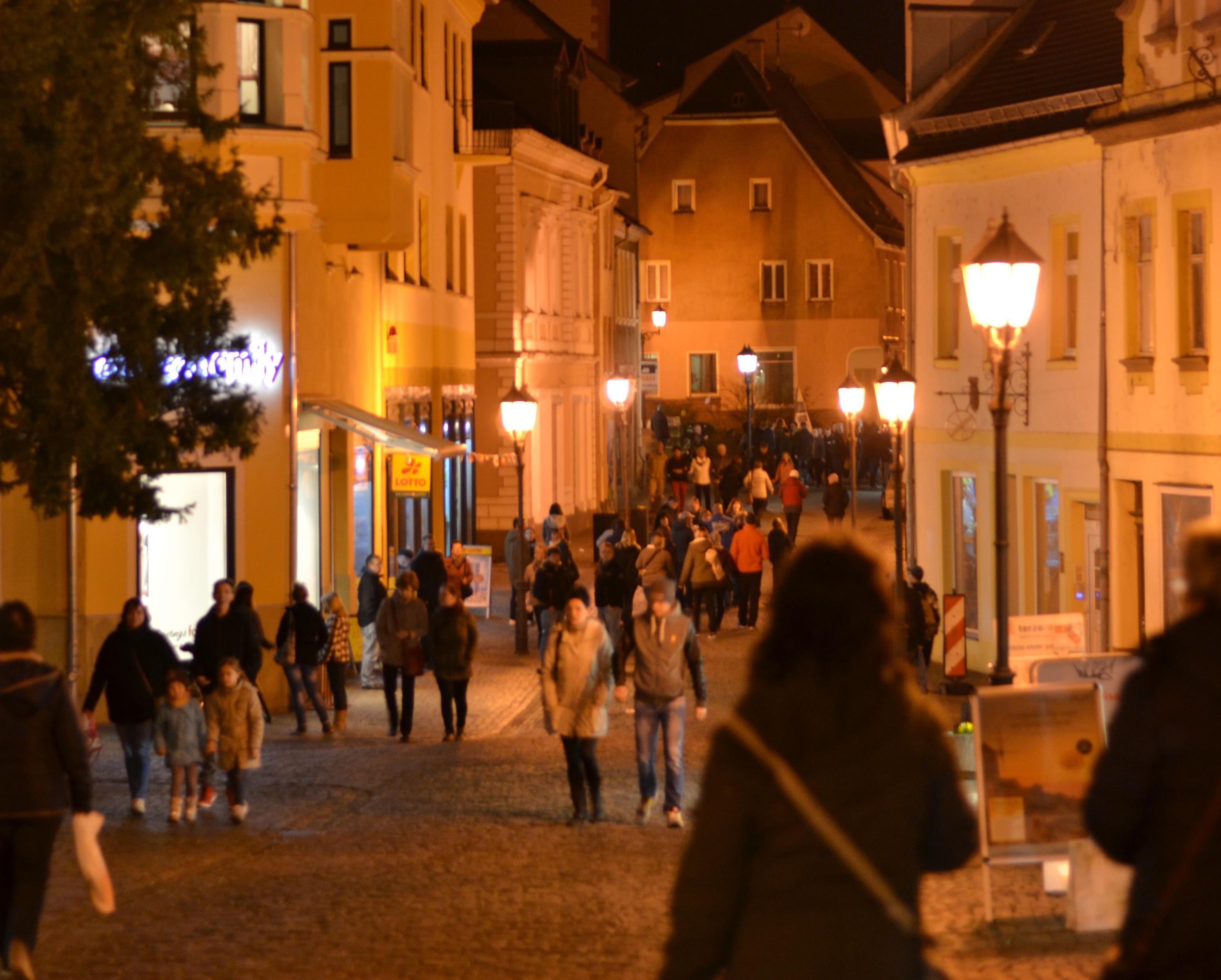 Wurzener Innenstadt – feurig, eisig, einfach zauberhaft