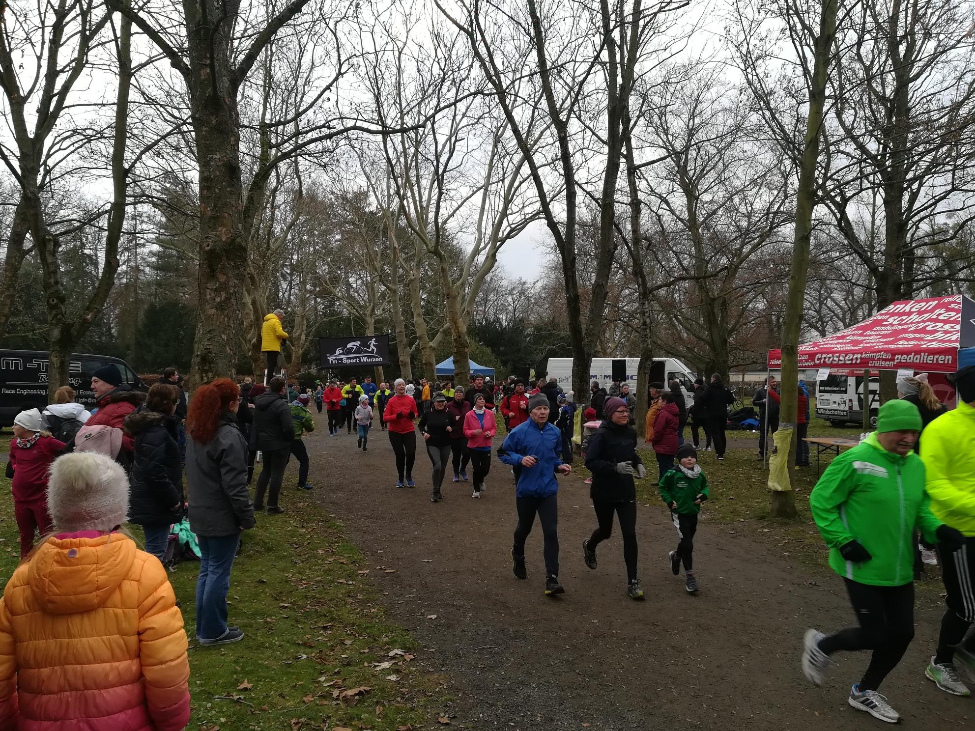 Sportlicher Jahresausklang im Wurzener Stadtpark