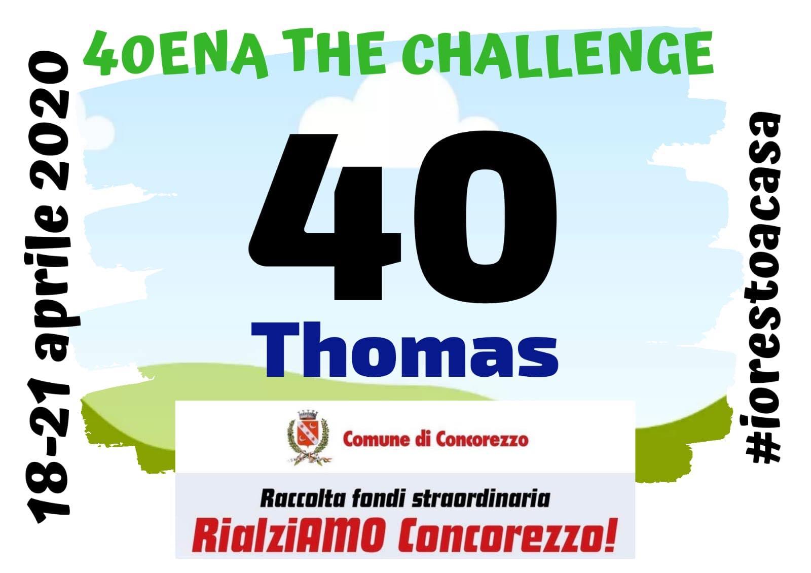 40ena Challenge oder Wie man das Beste aus Quarantäne macht