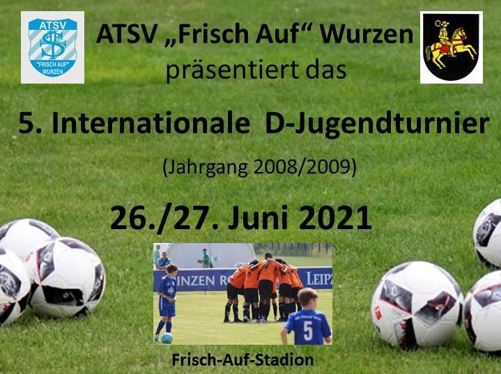 Internationales Fußballturnier des ATSV 2021: Termin steht!