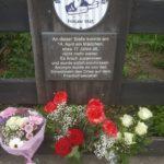 Gedenken für die Opfer der Todesmärsche 1945