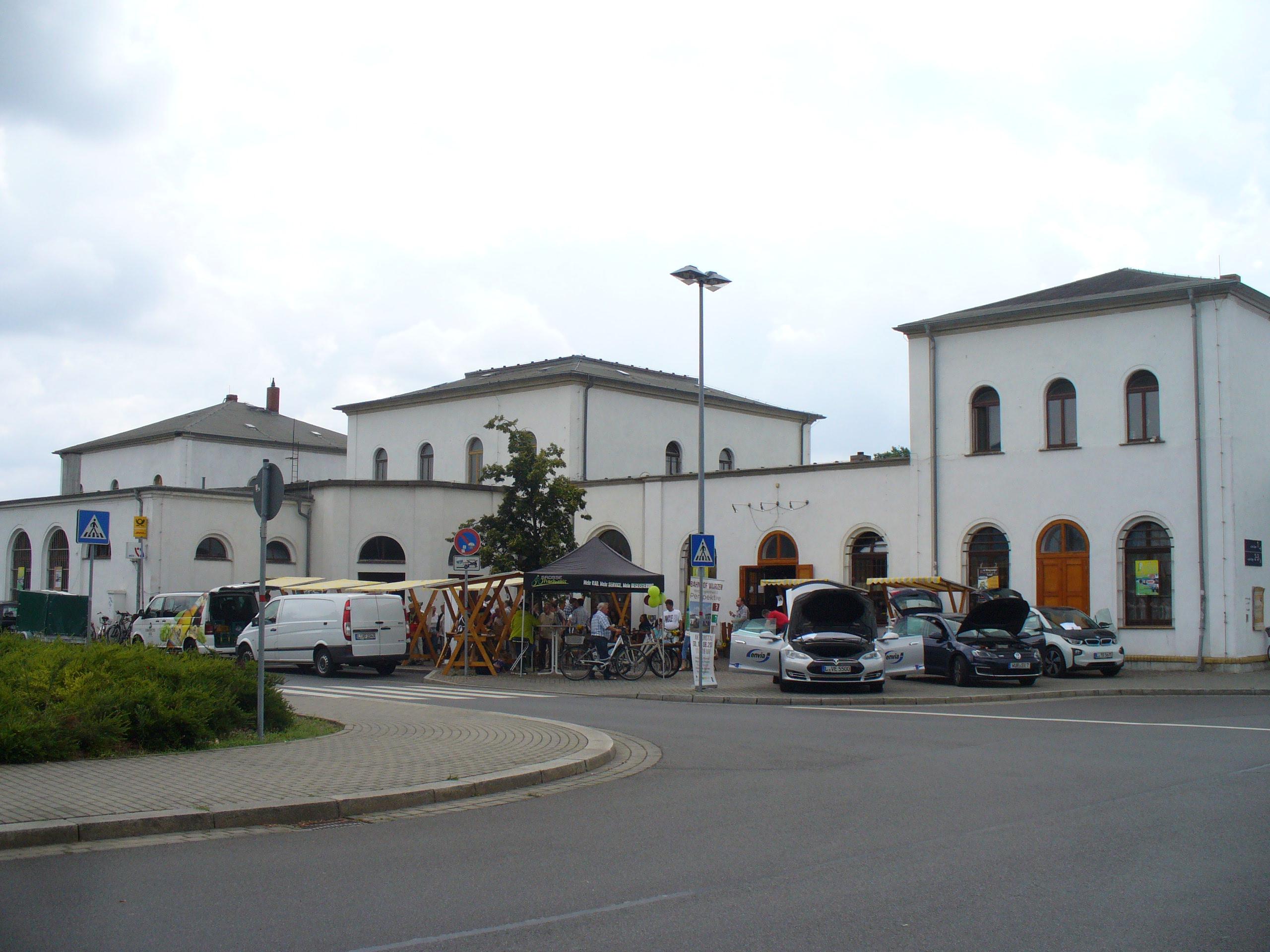 Online-Bauernmarkt etabliert sich im Wurzener Bahnhof